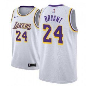 Men's Los Angeles Lakers #24 Kobe Bryant Jersey